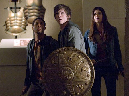 Publicity shot from Percy Jackson and the Olympians: The Lightning Thief