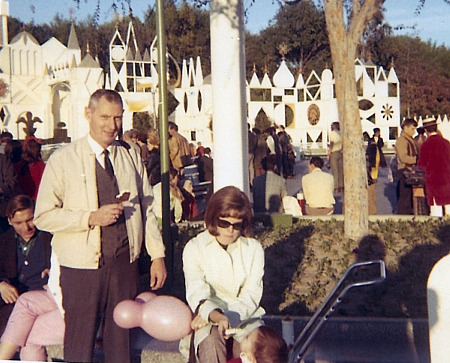 Robert at Disneyland in the 1960s