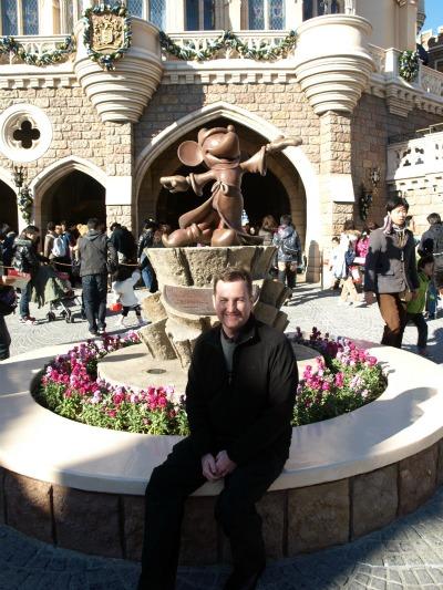 Robert at Tokyo Disneyland