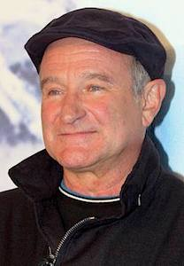 Robin Williams, from Wikimedia Commons