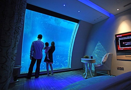 Ocean Suite at Singapore's Equarius Hotel