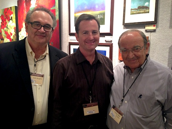Bob Rogers, Robert Niles, and Marty Sklar