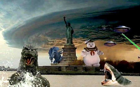 Sandy attacks!