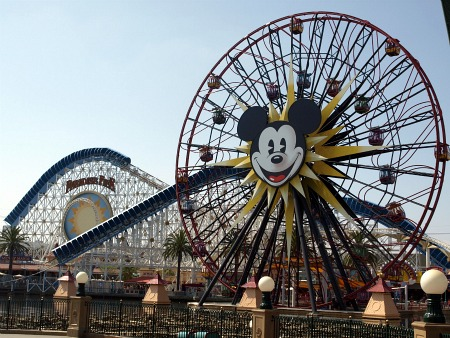 California Screamin' and the Mickey's Fun Wheel