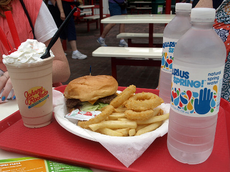 Johnny Rockets at Great America