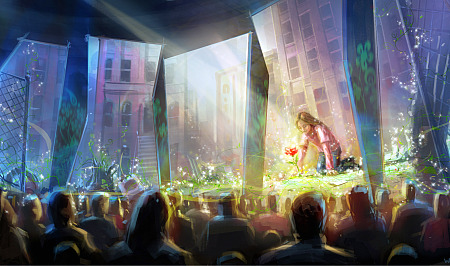 Concept art for The Garden