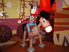 Sheriff Woody and Bullseye