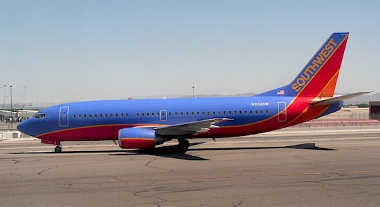 Southwest Airlines. Photo from Wikimedia Commons.
