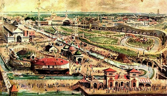 Steeplechase Park in 1903
