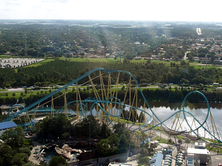 Kraken roller coaster