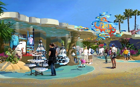 New SeaWorld retail