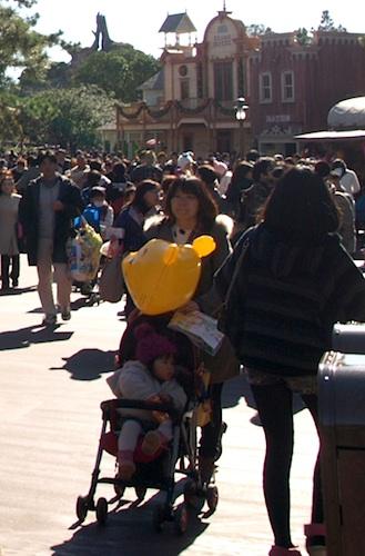 Balloon in Tokyo Disneyland