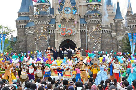 Tokyo Disneyland's 30th birthday celebration