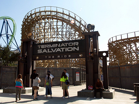 Exterior of Terminator Salvation queue