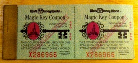 Walt Disney World Magic Key tickets