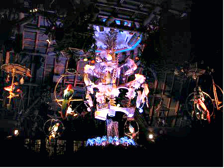 The Tiki Room's Birdmobile