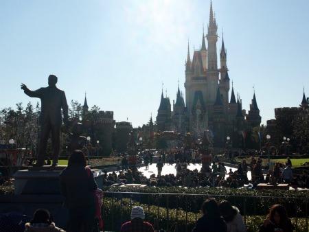 Partners at Tokyo Disneyland