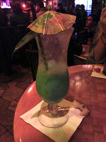 Drinks at Trader Sams