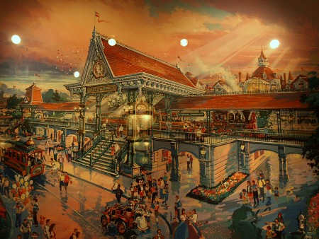 Disneyland Paris train station