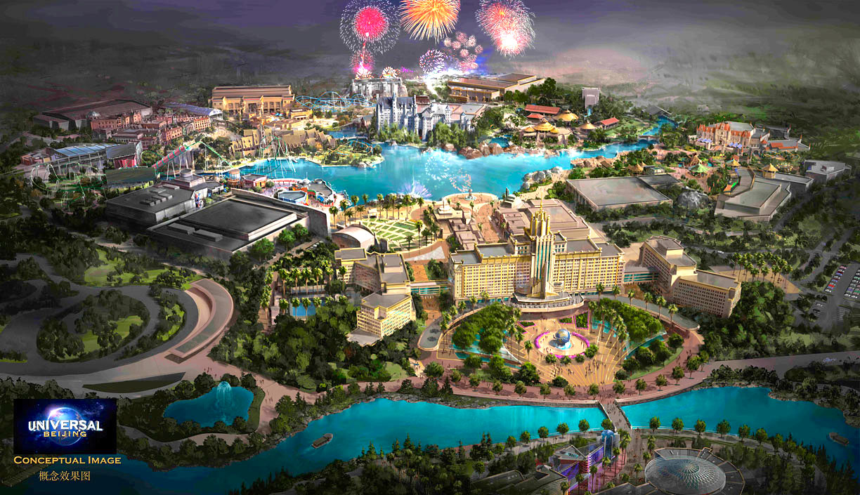 It's Official: Universal Studios is Coming to Beijing in 2019