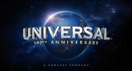 Universal 100th logo