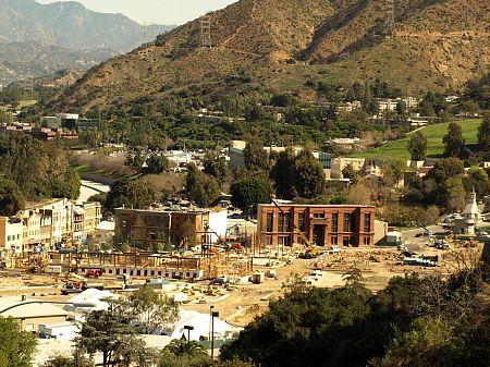 Universal Studios' back lot