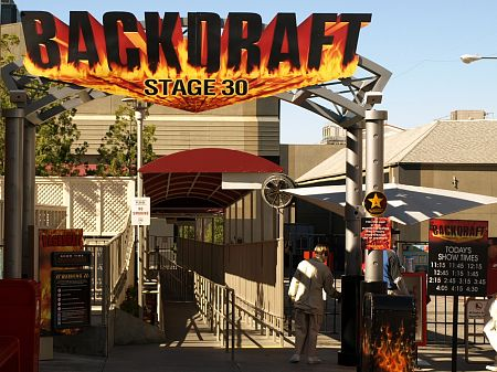 Backdraft show at Universal Hollywood
