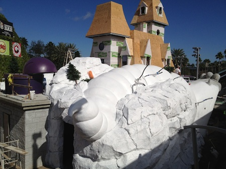 More mini-golf construction at Universal Orlando