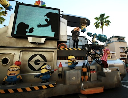 Despicable Me float