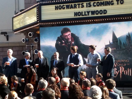 Hogwarts in coming to Hollywood