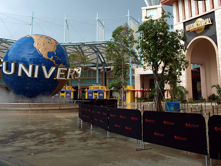 Universal Studios Singapore front gate