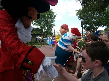 Meeting Captain Hook