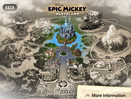 Epic Mickey's Wasteland