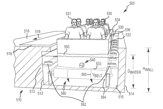 Omnimover boat ride vehicle plan