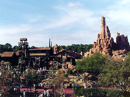 Big Thunder Mountain Railroad at Disney World