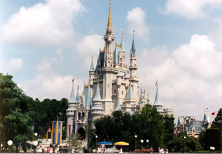 Cinderella's Castle at Walt Disney World's Magic Kingdom