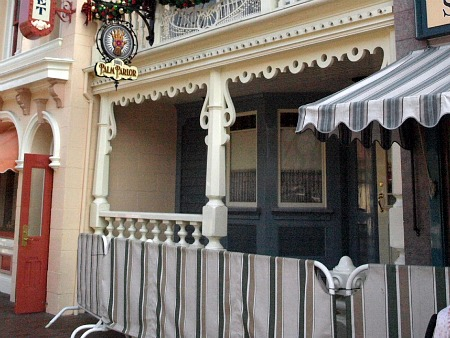 Wizard of Bras porch at Disneyland
