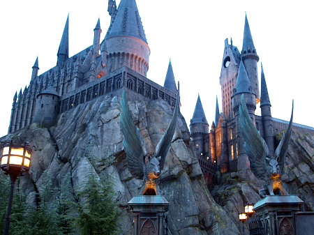 Hogwarts Castle at Universal's Islands of Adventure theme park