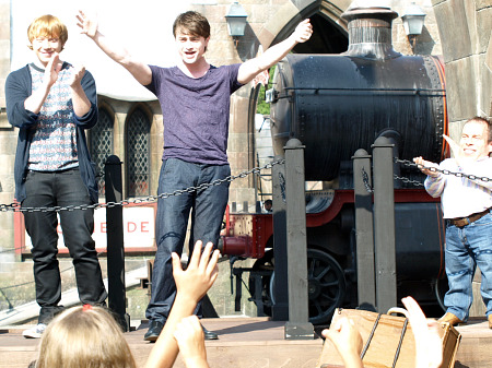 Daniel Radcliffe and the opening of the Wizarding World of Harry Potter