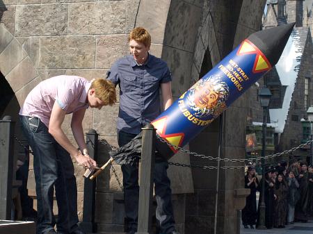 The Weasley's rocket