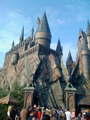Entrance to Hogwarts Castle