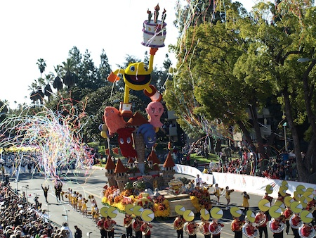 Pac Man in the Rose Parade