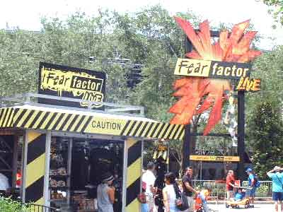 Fear Factor Live at Universal Orlando