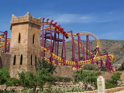 The Spanish have a long history of protecting their roller coasters from invaders.