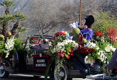 2005 Rose Parade Grand Marshal Mickey Mouse