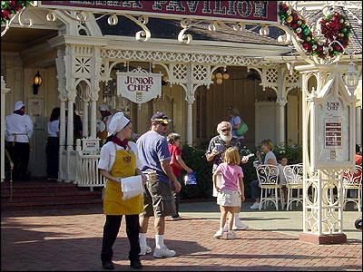 Cookie-making on Main Street U.S.A.