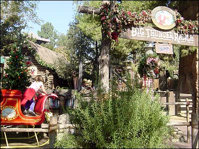 Big Thunder Ranch at Christmas