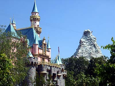Sleeping Beauty's Castle and the Matterhorn