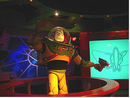 Buzz Lightyear Laser Blast photo, from ThemeParkInsider.com