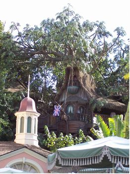 Tarzan's Treehouse photo, from ThemeParkInsider.com